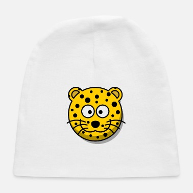 Cat Of Prey Leopard Big Cat of Prey Zoo Africa Gift Present - Baby Cap