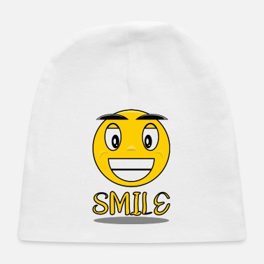 Smile Smile with a smile - Baby Cap