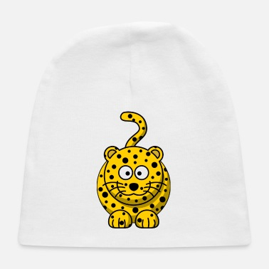 Cat Of Prey Leopard Big Cat of Prey Zoo Gift Present Lion Cute - Baby Cap