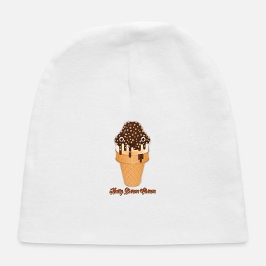 Nutty Brown Crown - Baby Cap