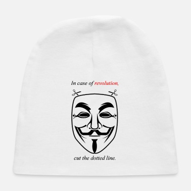 Guy Fawkes Guy Fawkes Mask - Baby Cap