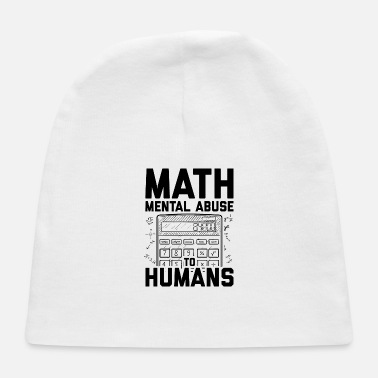 Daughter math teacher | School mathematics student gifts - Baby Cap