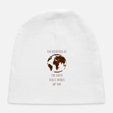 Ecology Rotation earth day gift ecology climate change - Baby Cap