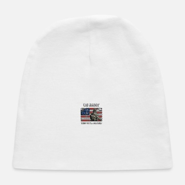 Freedom US Army - This we'll defend USA Flag - Baby Cap