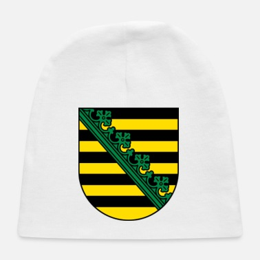 Saxony Saxony Coat Of Arms - Baby Cap