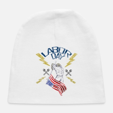 labor day usa - Baby Cap