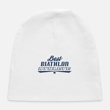 Biathlon Dad Biathlon Runner Biathlon Biathlons Sports Athlete - Baby Cap