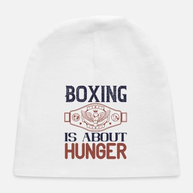 Hunger Boxing is about hunger - Baby Cap