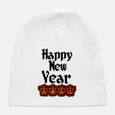 New Year New year happy new year - Baby Cap