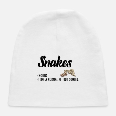 Snake snakes but cooler - Baby Cap
