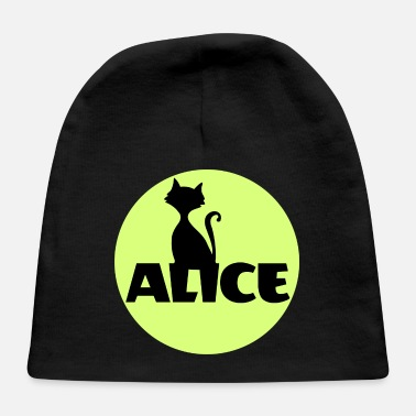 Kids Name Day Alice First name Name Personal gift Name day - Baby Cap