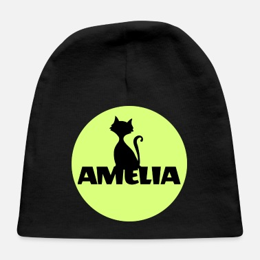 Name Day Amelia First name Name Name Motif Christening - Baby Cap