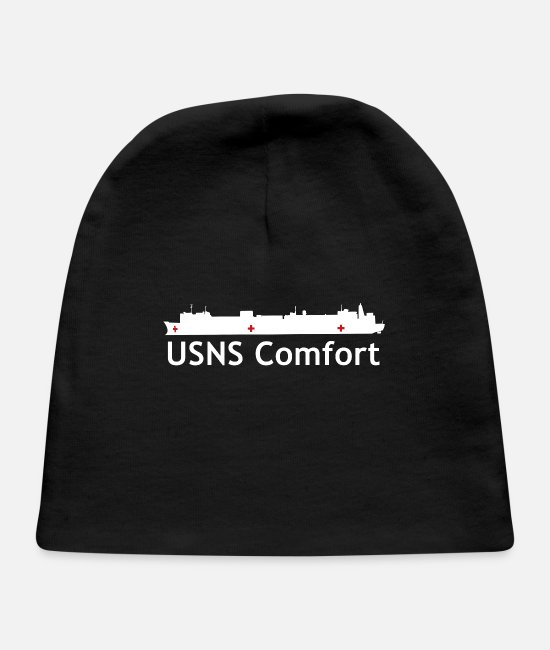 Bless You Baby Hats - USNS Comfort - Baby Cap black