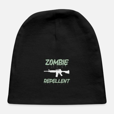 Bloody Equipped with zomvie repellent machine gun - Baby Cap