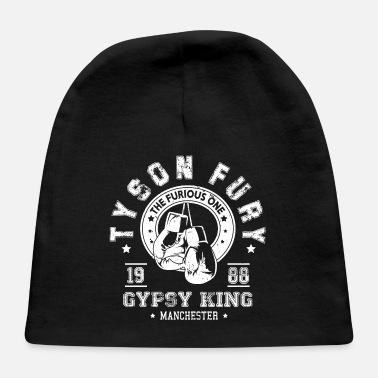 Detroit Tyson Fury Gypsy King Boxing Vintage Distressed - Baby Cap