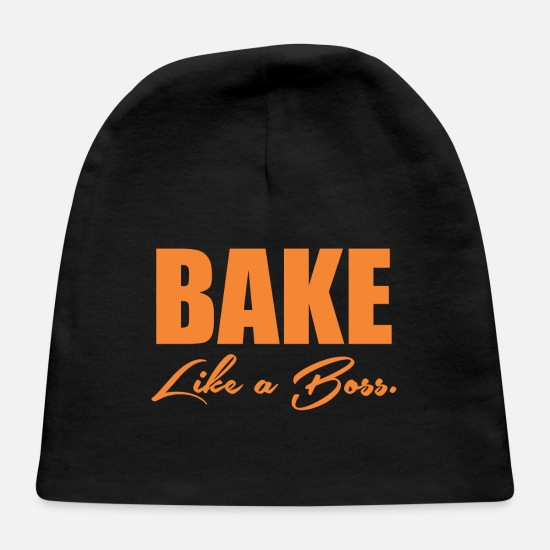 Game Baby Caps - Bake Like A Boss 10 - Baby Cap black