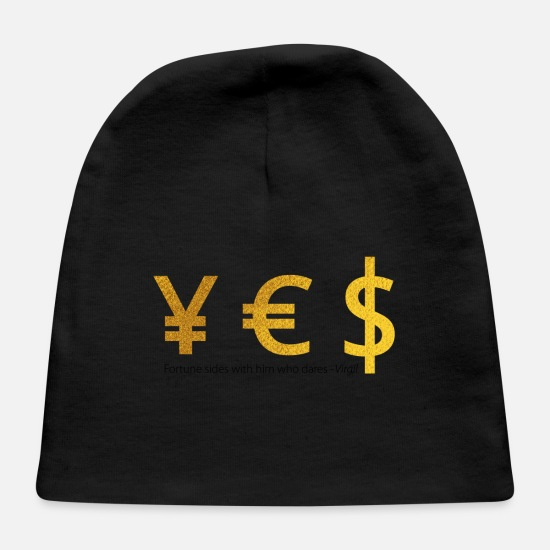 Money Baby Caps - Yes - Baby Cap black
