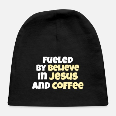 COFFEE / JESUS: Jesus And Coffee - Baby Cap