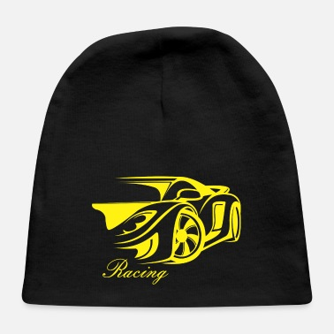 Racing Machine car racing - Baby Cap