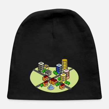 Earthquake City before earthquake/disaster - Baby Cap