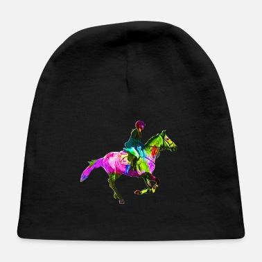 Horsewoman Colorful Horsewoman - Baby Cap