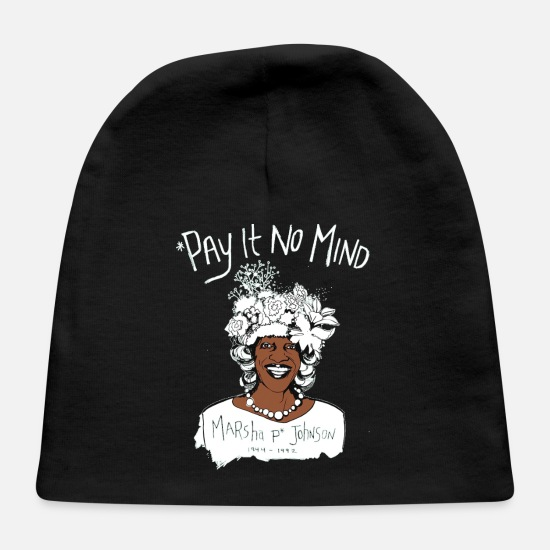 No Baby Caps - Pay It No Mind - Baby Cap black