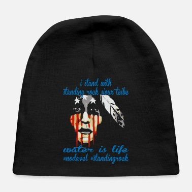 STAND WITH STANDING ROCK NODAPL - Baby Cap
