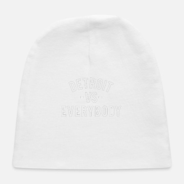 Detroit Vs Everybody Detroit VS Everybody White - Baby Cap