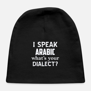Dialect Arabic dialect - Baby Cap