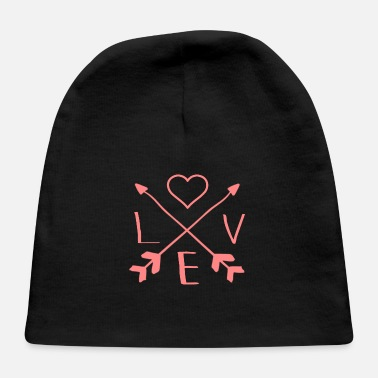 Lovely love-valentine's-day - Baby Cap