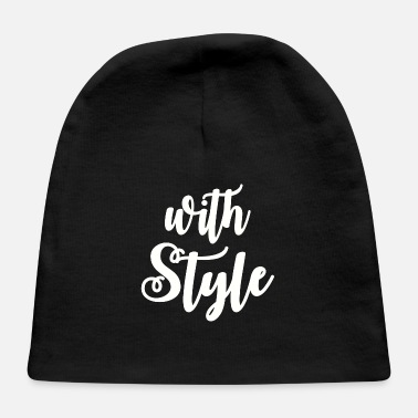 Style With Style - Baby Cap