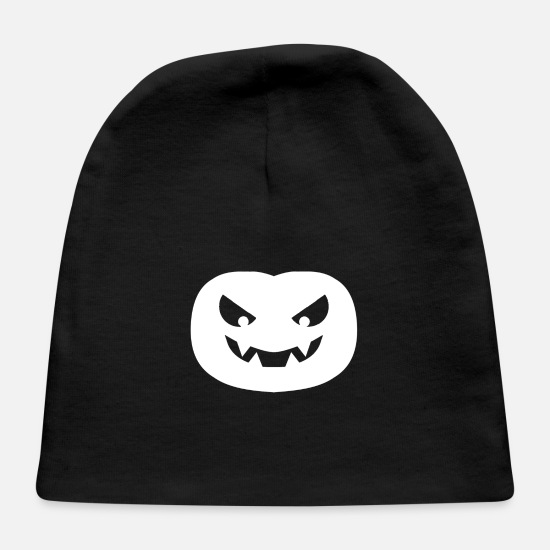 Boss Baby Caps - Pumpkin, pumpkin, head, halloween, - Baby Cap black