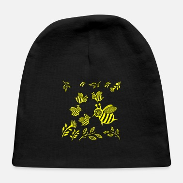 Lapsi GIFT - HONEY BEE YELLOW - Baby Cap