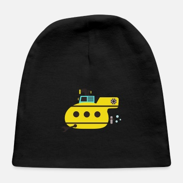 Under Water Submarine, under water - Baby Cap