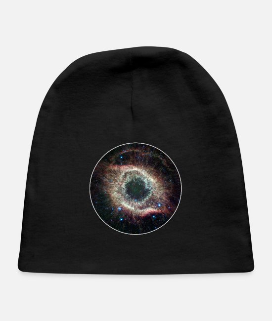 Hipster Baby Hats - Galaxy - Space - Stars - Cosmic - Art - Universe - Baby Cap black