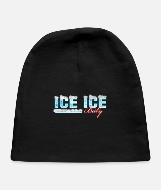 Song Baby Hats - ICE ICE Baby - Baby Cap black