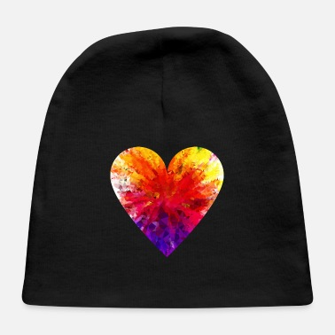 Colorful Colorful Heart - Baby Cap