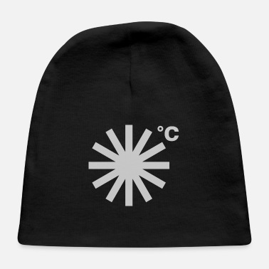 Asterisk It's Going to Snow - Baby Cap