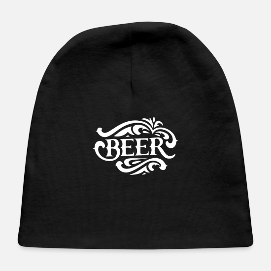 Beer Keg Baby Caps - Beer - Baby Cap black