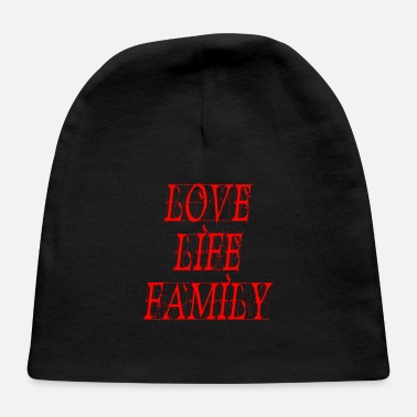 Lanparty love life family - Baby Cap