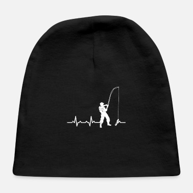 World Water Day Heartbeats Fishing Heart Rate - Baby Cap