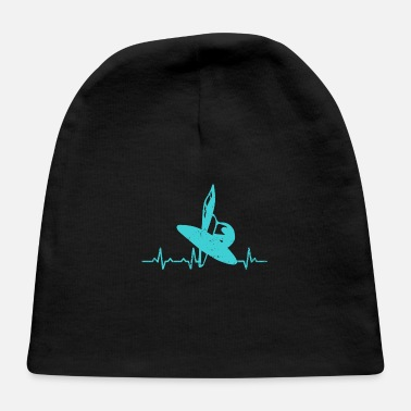 World Water Day Heartbeats Water Sail Heart Rate - Baby Cap