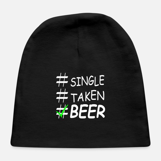 Beer Keg Baby Caps - BEER PARTY SINGLE - Baby Cap black