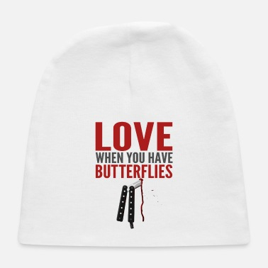 Butterfly Knife Butterfly In Your Tummy - Baby Cap