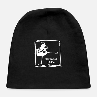 Hoof Talk To The Hoof - Baby Cap