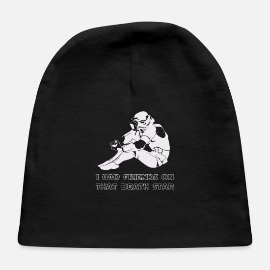 Movie Baby Caps - Sad Trooper - Baby Cap black