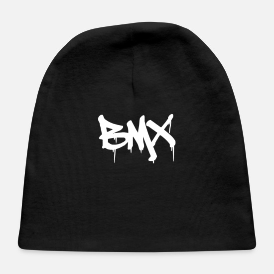 Awesome Baby Caps - BMX Graffiti - Baby Cap black
