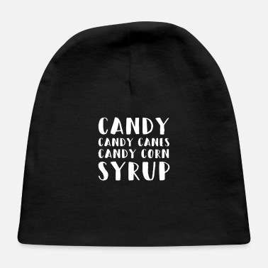 Candy CANDY CANES CANDY CORN - Baby Cap