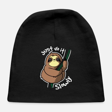 Slow Slow Sloth - Baby Cap