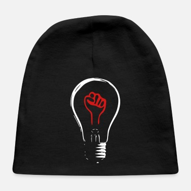 Light Bulb light bulb fist revolution - Baby Cap